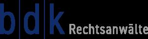 b|d|k Rechtsanwälte – Fachanwälte für Strafrecht: Bliwier, Dierbach, Kienzle Logo